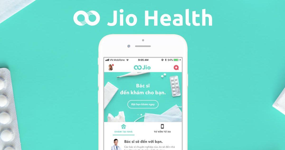 healthcare apps - Jio