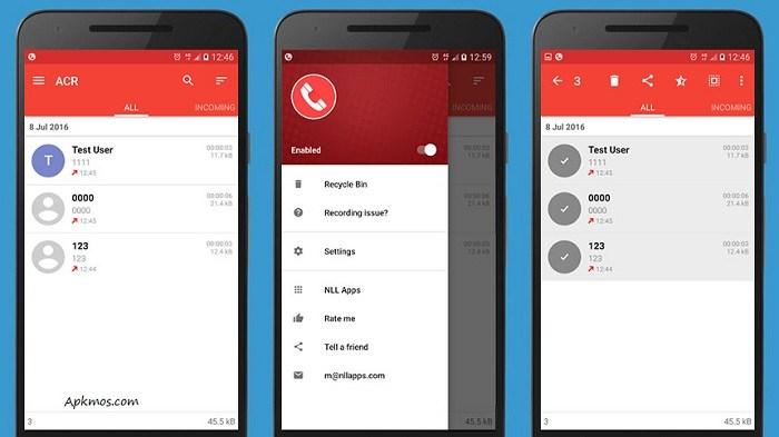 Calling apps - ACA